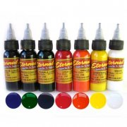 Eternal Tattoo Ink Primary 7 Color Set