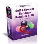 36 Self Adherent Bandage Retainer Rolls