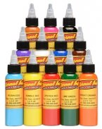 Eternal Tattoo Ink Sample 12 Color Set