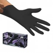 Shadow Black Nitrile Gloves