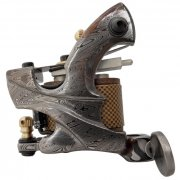 Damascus Tattoo Machine 15