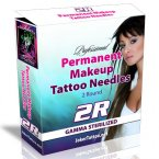 Permanent Makeup Tattooing Needles 2R