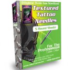 Round Shader Textured Tattoo Needles