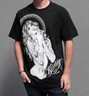 Born Free Blaq T-Shirt by Sullen