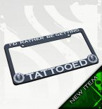Rather License Plate Frame by Sullen