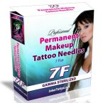 Permanent Makeup Tattooing Needles 7F
