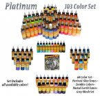 Eternal Tattoo Ink Platinum 107 Color Set