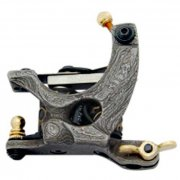 Damascus Tattoo Machine 27