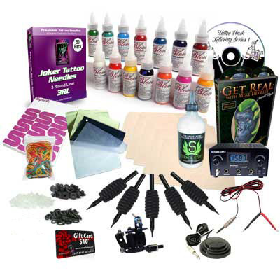 Deviant Tattoo Kit