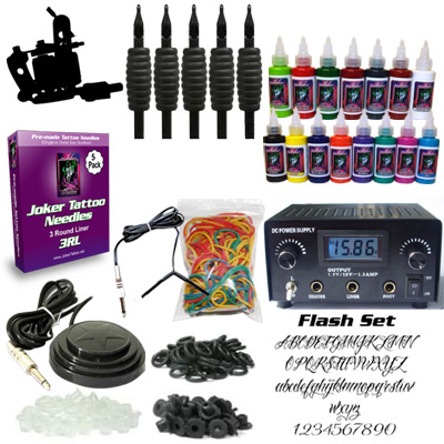 Joker Tattoo Kit 1