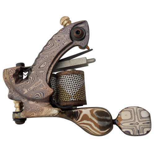 Damascus Tattoo Machine 11
