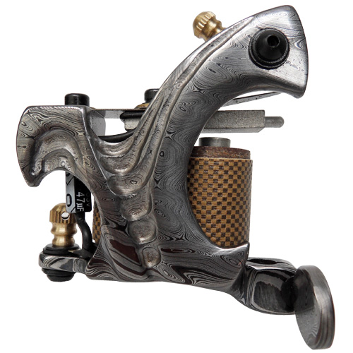 Damascus Tattoo Machine 7
