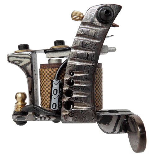 Damascus Tattoo Machine 8