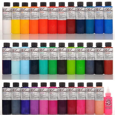 a5bbbf5c4 Bloodline Tattoo Ink 36 Color Set Skin Candy Tattoo Ink is some of the best tattoo  ink available. We offer skin candy at discount pricing.