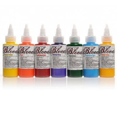 Bloodline Tattoo Ink 7 Color Primary Set