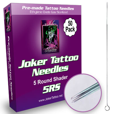 Joker Round Shading Tattoo Needles