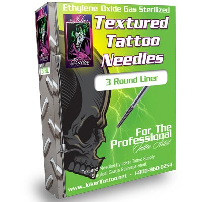 Round Liner Textured Tattoo Needles