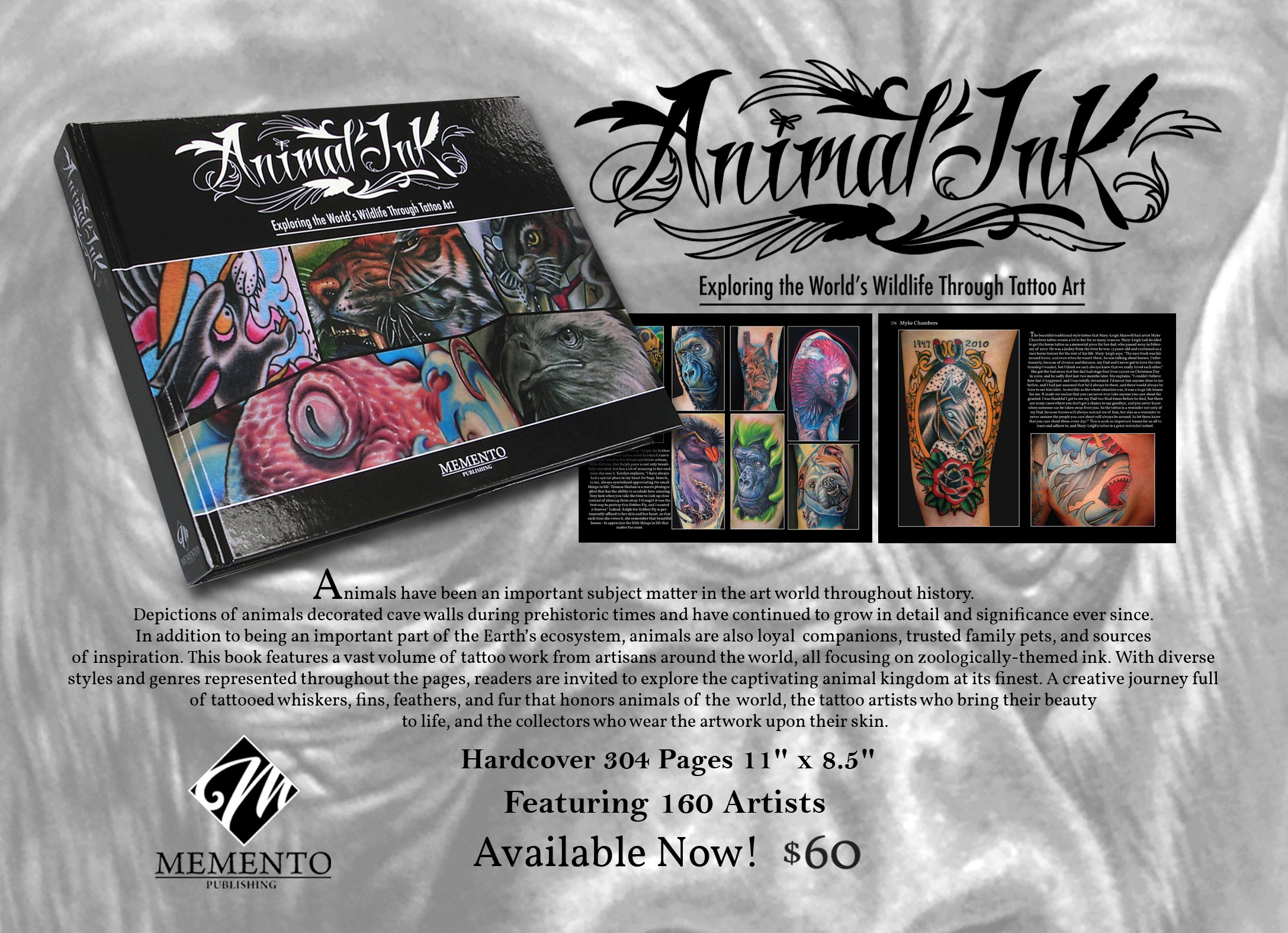 Animal Ink - New Book by Mike Devries