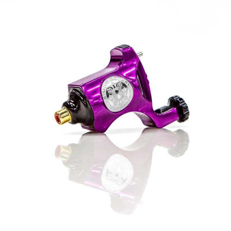 Bishop Rotary Tattoo Machine in Beatnik Purple
