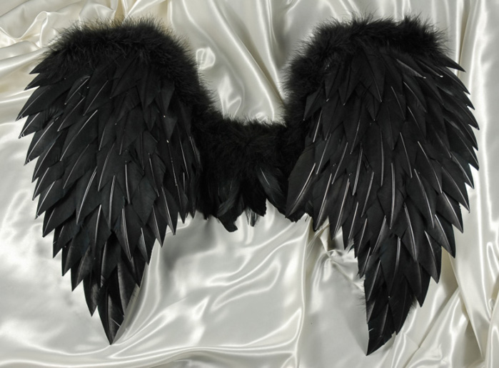 Dark Angel Wings 32 x 31 1/2 Victoria's Secret Angel Wings ...