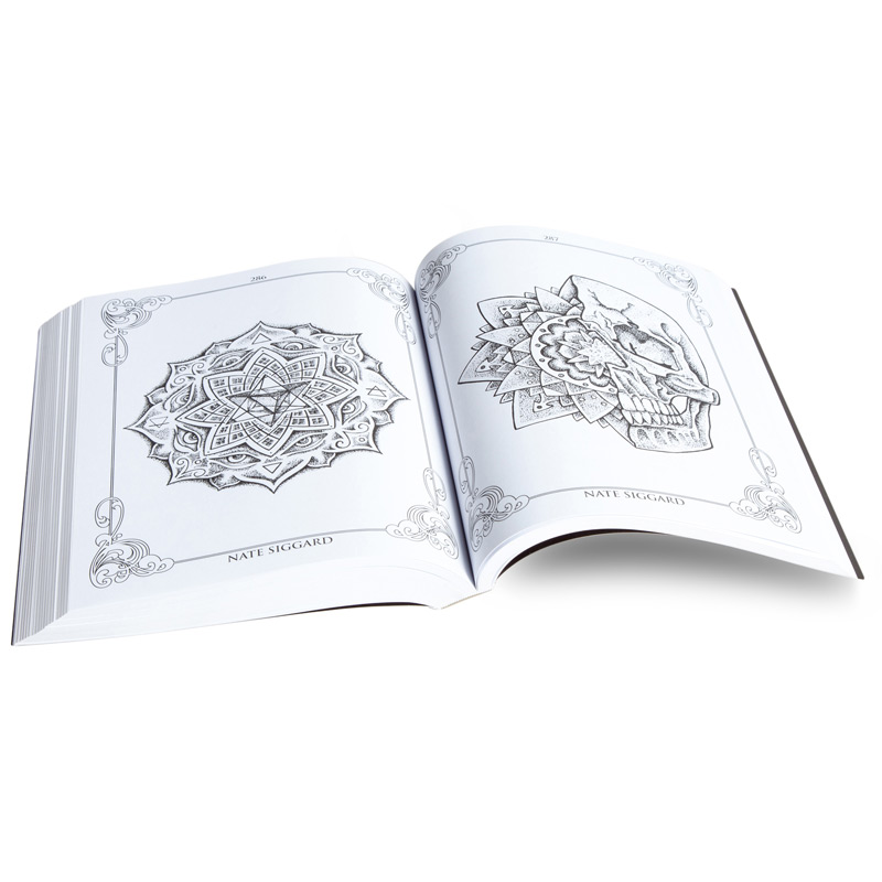 The Tattoo Coloring Book Project 2nd Edition : Tattoo Supplies ...