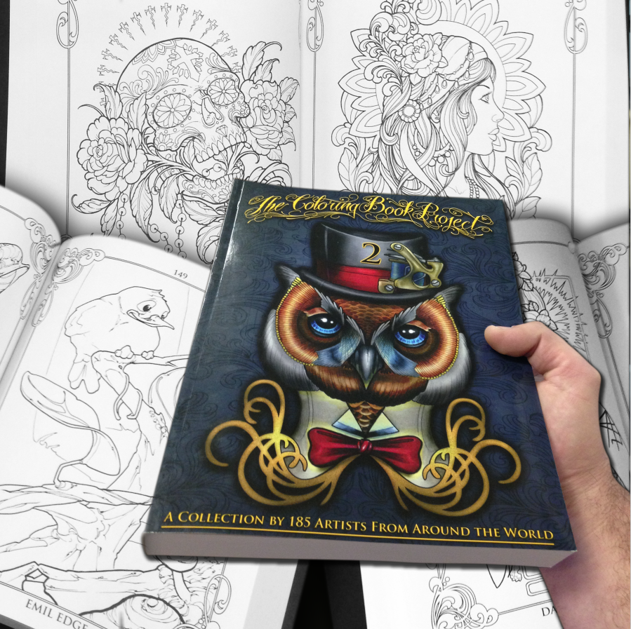 Coloring book html5 - The Tattoo Coloring Book Project 2nd Edition