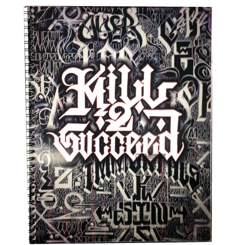 Kill 2 Succeed Tattoo Lettering Book