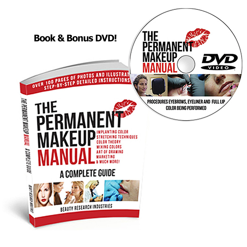 The Permanent Makeup Manual with DVD version included