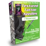 Textured Tattoo Needles