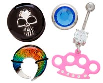 Body Jewelry at Joker Tattoo Supply