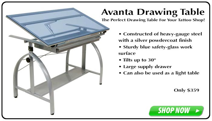 Avanta Drawing Table