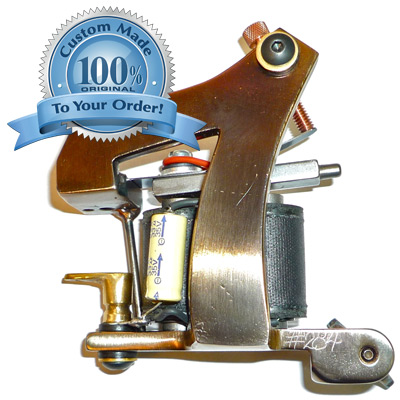 The Dringenberg Custom 7 Tattoo Machine at Joker Tattoo Supplies