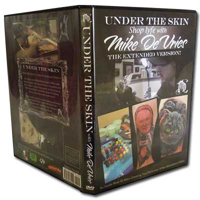 "Tattoo DVD ""Under The Skin"" by Mike Devries"
