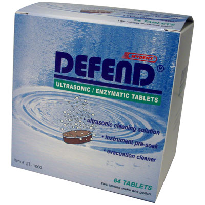 Defend Ultrasonic Enzymatic Tablets