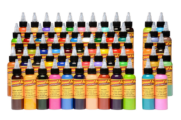 Eternal Tattoo Ink Gold 60 Color Set