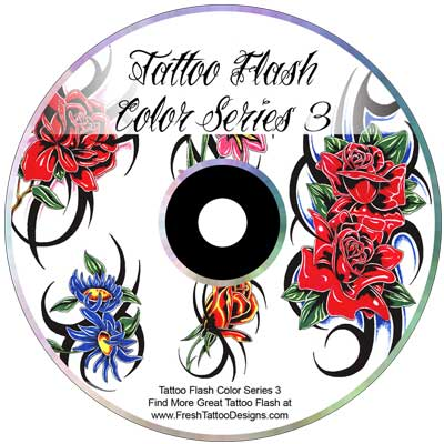 Tattoo Flash Color Series 3