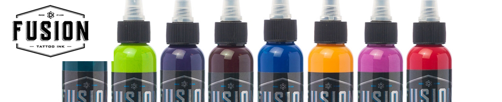 Fusion Tattoo Ink at Joker Tattoo Supply!  Get Your Fusion Ink Delivered Fast & Accurate!