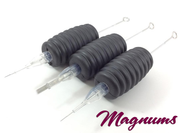 "Magnum Tattoo Needle with Disposable Tube & 5/8"" Grip"
