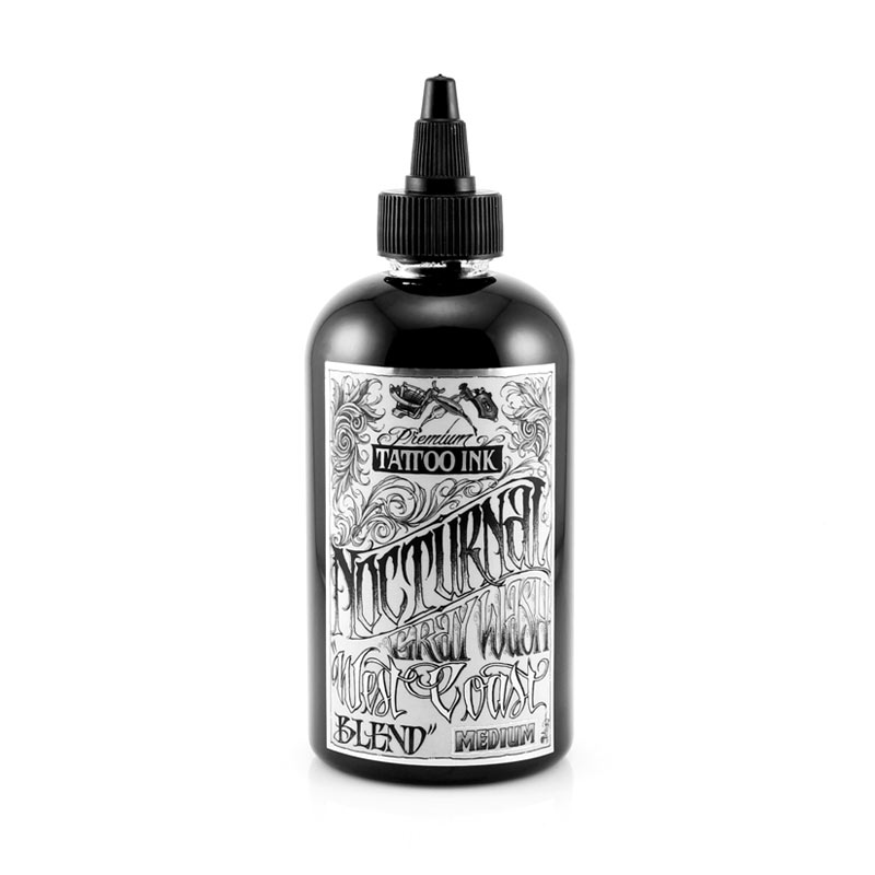 Nocturnal Tattoo Ink Graywash Dark