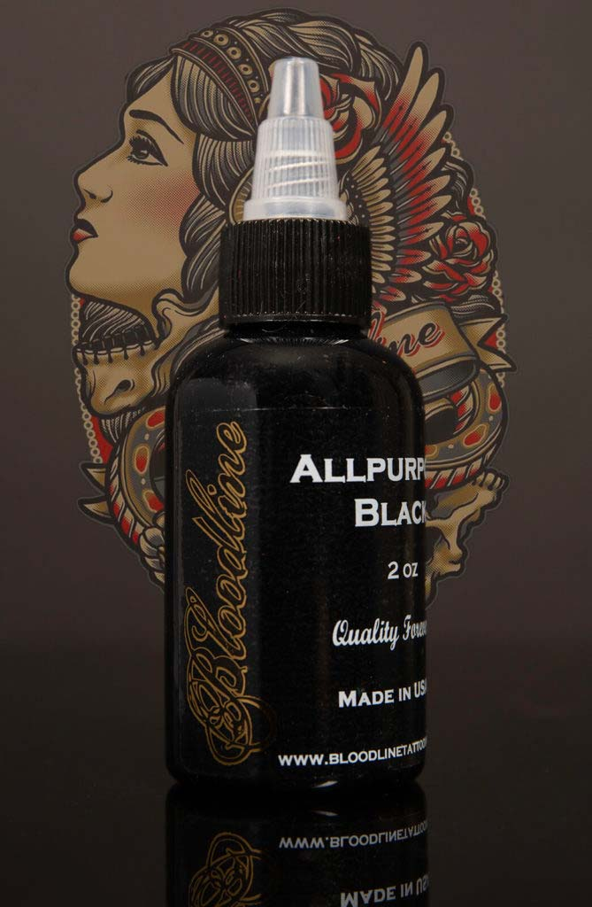 Bloodline Tattoo Ink All Purpose Black