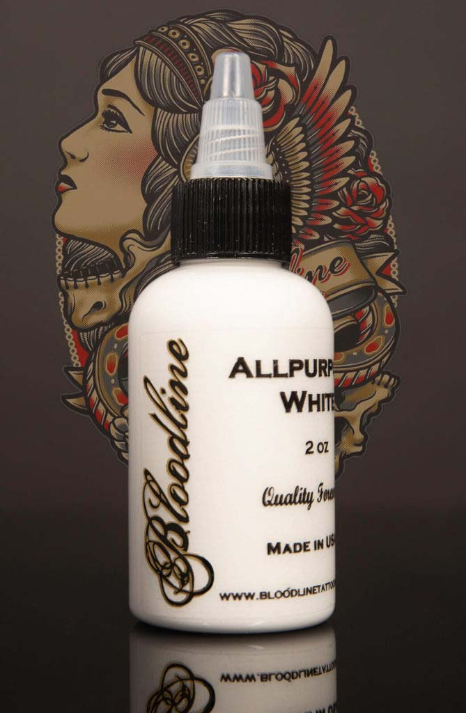 Bloodline Tattoo Ink All Purpose White