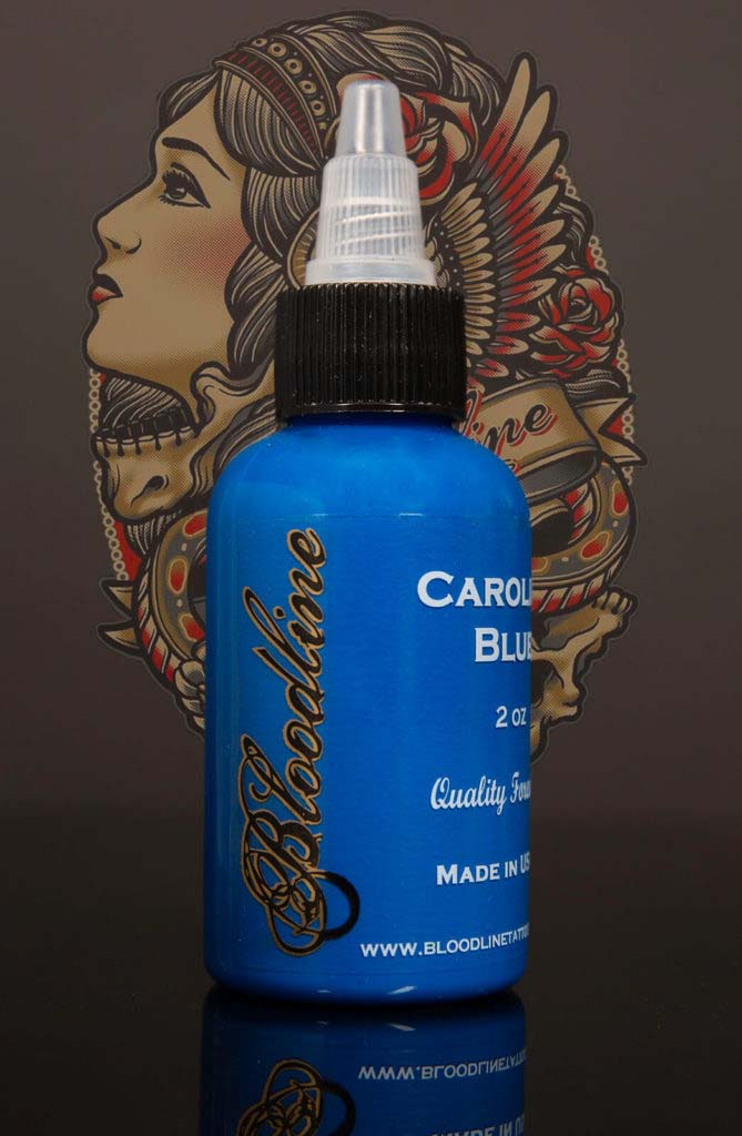 Bloodline Tattoo Ink Carolina Blue