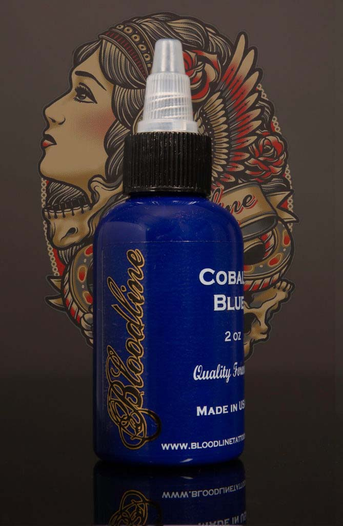 Bloodline Tattoo Ink Cobalt