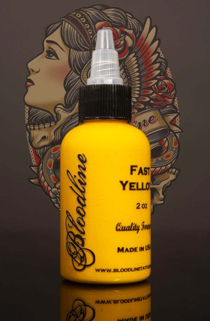 Bloodline Tattoo Ink Fast Yellow