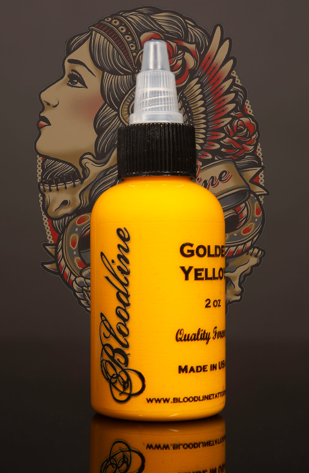 Bloodline Tattoo Ink Golden Yellow