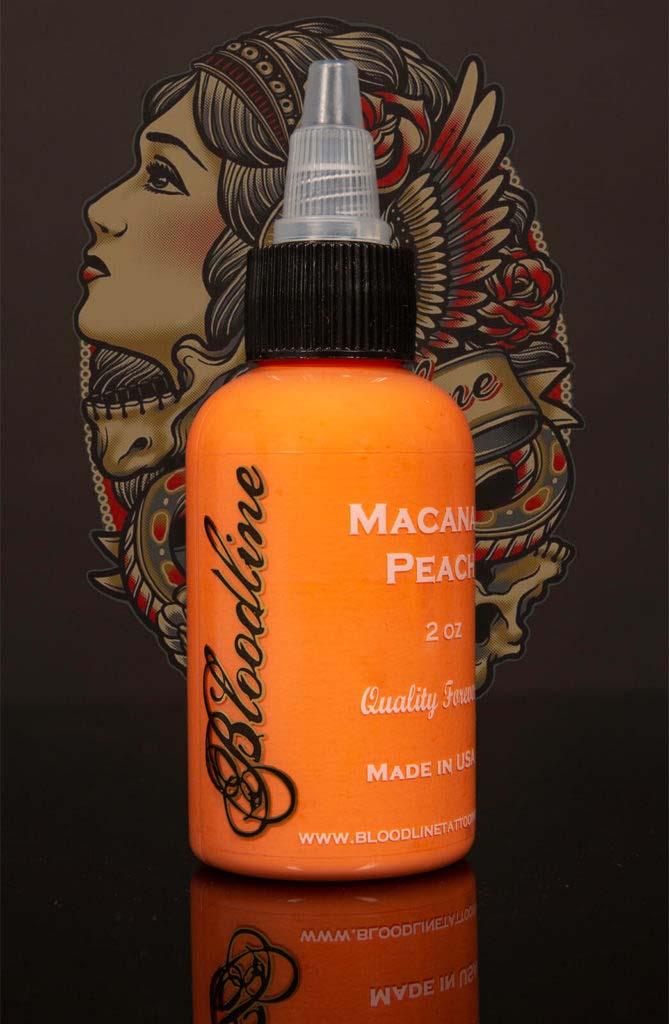 Bloodline Tattoo Ink Macanau Peach Pastel