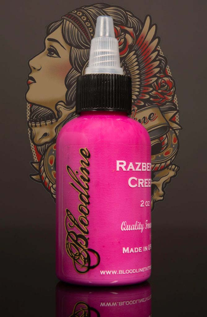 Bloodline Tattoo Ink Razberry Cream