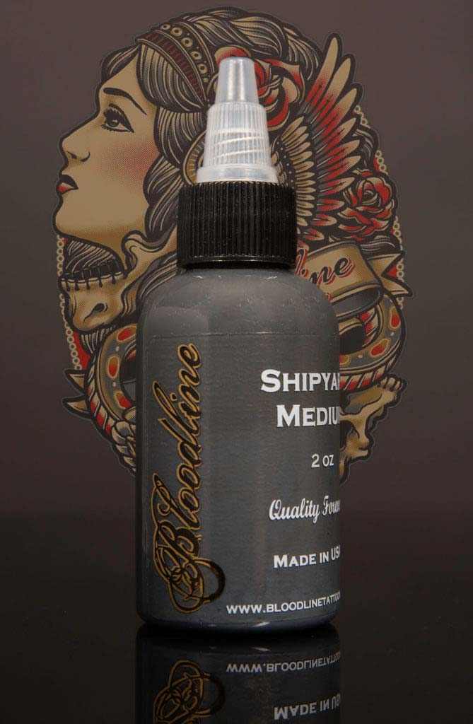 Bloodline Tattoo Ink Shipyard II Medium Grey