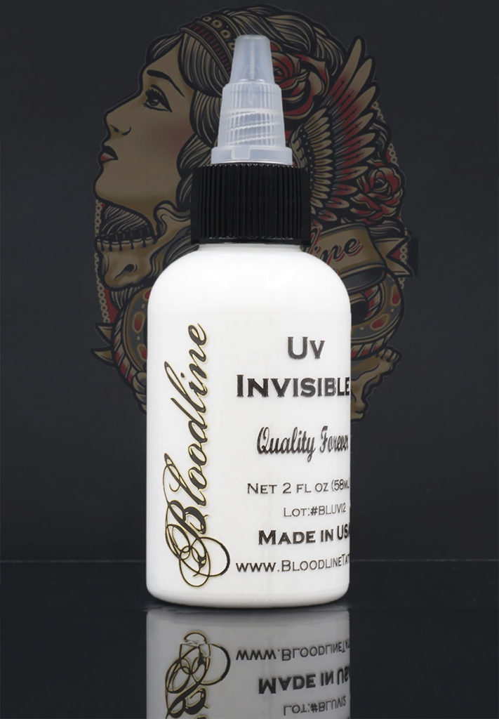 Bloodline UV Tattoo Ink Black Light Invisible
