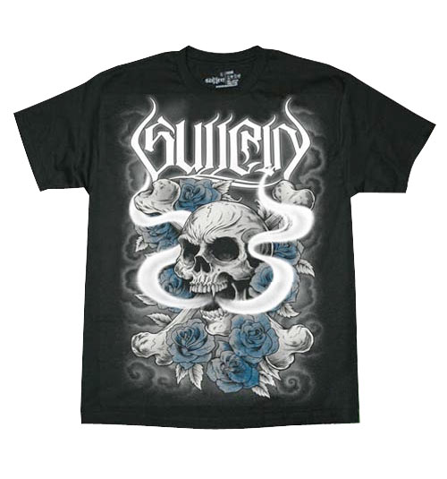 Smoke Skull T-Shirt by Sullen